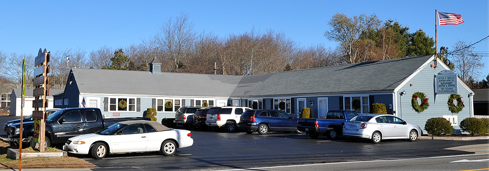 picture of Peter Briggs Insurance building in Mattapoisett